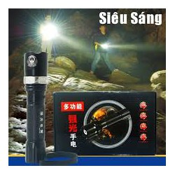 Đèn pin siêu sáng Police có chế độ zoom xa gần tiện dụng