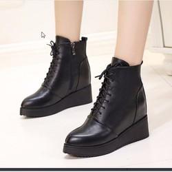 Giày boot nữ đế xuồng cá tính B064