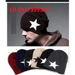 Mũ len nón len nam nữ 2 lớp thu đông Hàn QUốc imới - Y16NL2