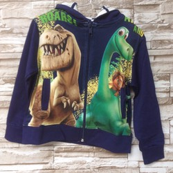 Áo khoác bé trai in 3D khủng long - 10kg đến 28kg