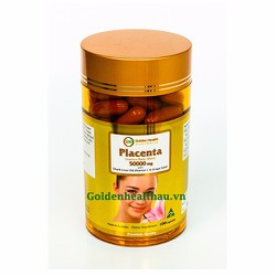 Nhau thai cừu golden health 50000mg - Placenta 50000mg 100 viên