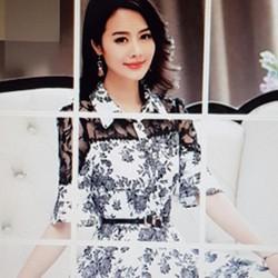 Đầm nữ kiểu dáng đẹp mắt, phong cách trẻ trung.