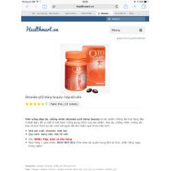 viên uống dưỡng da chống lão hoá Q10 shiseido