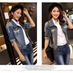Áo Khoác Jean Style