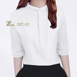 Áo sơ mi cổ trụ Zart - Nhãn hiệu độc quyền