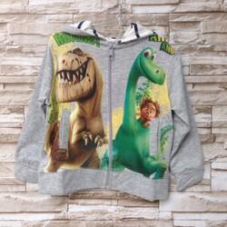 Áo khoác bé trai in 3D khủng long - AT103