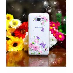 Ốp lưng Samsung Galaxy Grand Prime G530 dẻo hình hoa