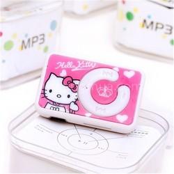 Máy Nghe Nhạc Mp3 Hello Kitty Tặng Cáp Sạc