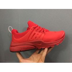 Giày thể thao nam đỏ cá tính năng động phong cách mạnh