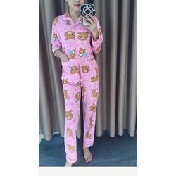 Sét ngủ pijama gấu dài siêu hot