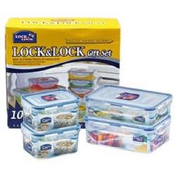Bộ 4 hộp đựng thực phẩm Lock and Lock