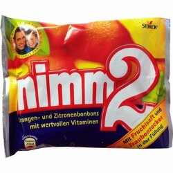 kẹo cứng hoa quả sách tay của Đức