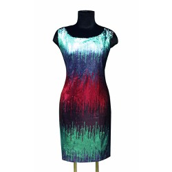 Đầm ôm body kim sa Tri Lan