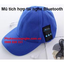 Mũ thời trang tích hợp tai nghe Bluetooth Hifi cao cấp