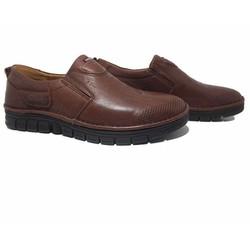 Giày lười nam đẹp màu nâu tối mã 12GL63938N