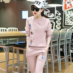 Sét áo và quần dài họa tiết trẻ trung B601