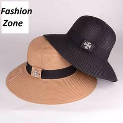 nón vành nữ Hàn Quốc nón rộng vành che nắng mùa hè kiểu Anh