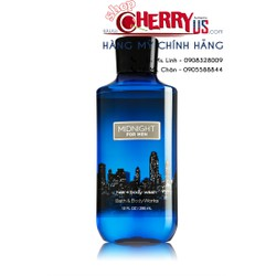 Tắm gội 2in1 BATH AND BODY WORKS Midnight for men 295ml