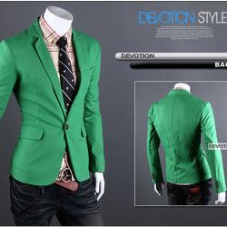 Áo vest nam body màu xanh lá cây trẻ trung, năng động