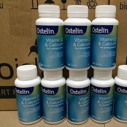 Bổ sung canxi Úc - Ostelin Vitamin D Calcium 130 viên