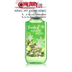Sữa tắm FROSTED WINTER WOODS - Bath and body work 295ml