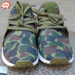 Giày thể thao sneaker-mới, NMD CamoXR1 olive, nữ