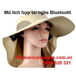 Mũ thời trang tích hợp tai nghe Bluetooth cao cấp