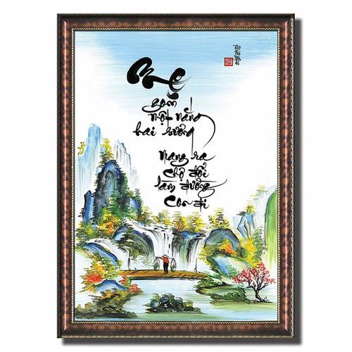 Tranh Thư Pháp Vẽ Tay Chữ Mẹ - 4109672 , 4516213 , 15_4516213 , 489000 , Tranh-Thu-Phap-Ve-Tay-Chu-Me-15_4516213 , sendo.vn , Tranh Thư Pháp Vẽ Tay Chữ Mẹ