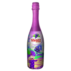 Nước trái cây có gas - Trẻ em - Nho