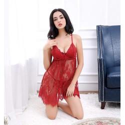 Đầm ngủ thun lưới quyến rũ chất đẹp hàng xuất khẩu - D683