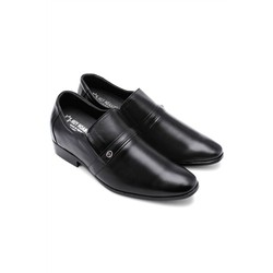 Giày tăng chiều cao Huy Hoàng màu đen HH7162