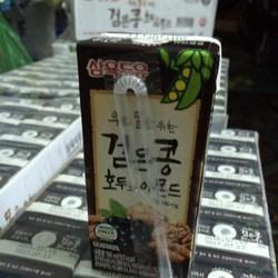 Sữa đậu mè đen óc chó dạng hộp Hàn Quốc