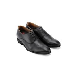 Giày tăng chiều cao Huy Hoàng màu đen HH7188