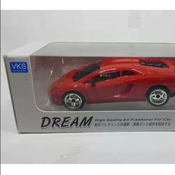 Xe mô hình Lamborghini Aventador có khay nước hoa màu đỏ