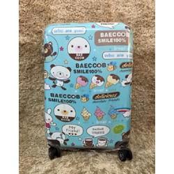 vali nhựa cứng Hàn quốc size 24