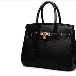 Túi xách cao cấp kiểu dáng Châu Âu - màu đen