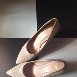 Giày VNXK sang trọng ánh kim