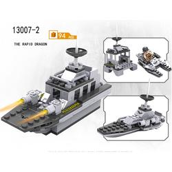 Bộ sưu tập các loại tàu quân sự lắp ghép