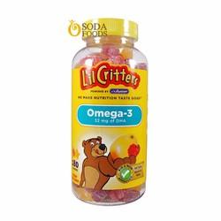Kẹo dẻo Gummy Omega-3 DHA 180 viên