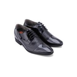 Giày tăng chiều cao Huy Hoàng màu đen HH7180