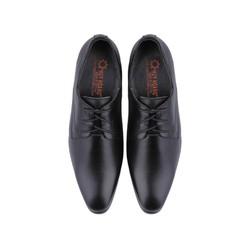 Giày nam tăng chiều cao Huy Hoàng màu đen HH7189