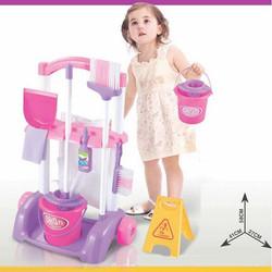 Bộ dụng cụ vệ sinh nhà cửa cho bé