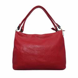 Túi xách nữ da bò thật cao cấp ELMI màu đỏ ETM589