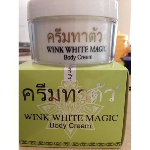 Kem dưỡng trắng da thái lan WINK WHITE MAGIC