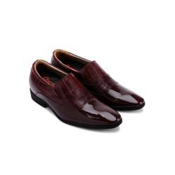 Giày tăng chiều cao Huy Hoàng màu nâu đất HH7185