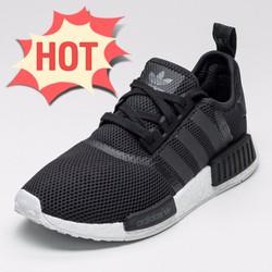 Giày thể thao sneaker nữ, NMD có 2 màu đen và trắng, mẫu mới đang hot