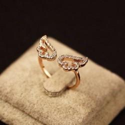 Nhẫn cánh thiên thần đính đá