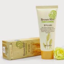 Sữa Rửa Mặt Chiết Xuất Từ Gạo 3W Clinic Brown Rice Foam Cleansing