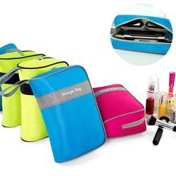 Túi đa năng nhiều ngăn đựng mỹ phẩm và điện thoại cao cấp