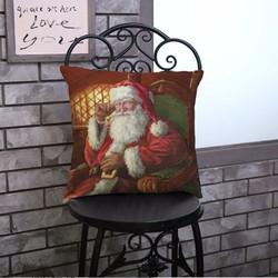 Vỏ Gối Giáng Sinh Ông Già Noel Queenie
